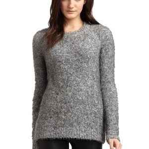 Elizabeth & James | Boxy Fuzzy Pullover Sweater